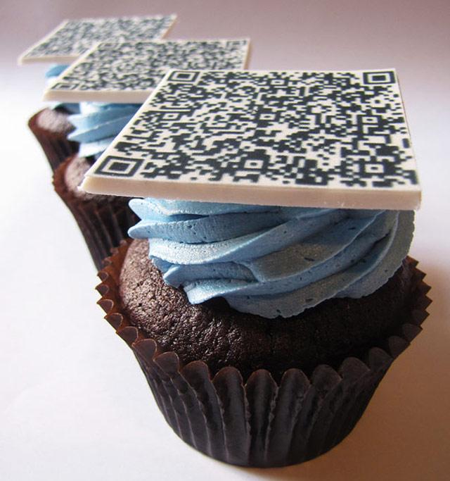 cupcake QR codes