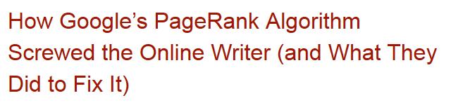 great article headline example